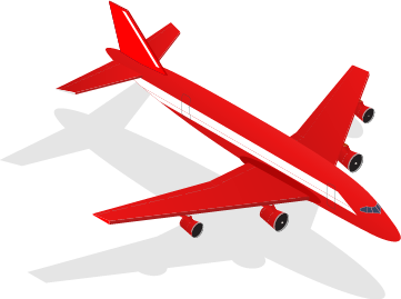 Avión transporte urgente