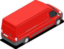 Furgoneta transporte urgente 2