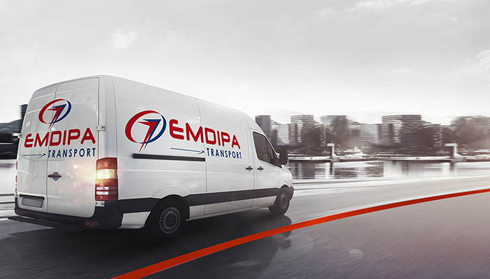 Furgoneta transporte urgente Emdipa